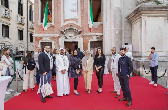 "Sheikh Abdullah Al Salem Cultural Centre's Second Group of Resident Artists Make Waves at International Exhibition ""In my Dream I was in Kuwait"" ."