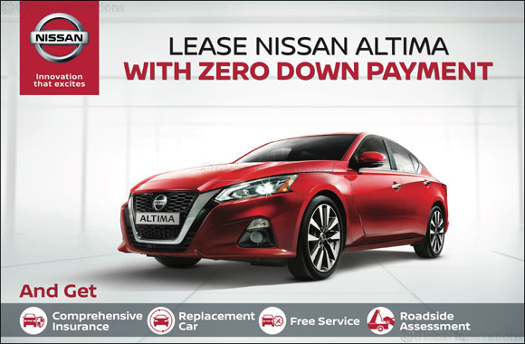 No Down Payment on NISSAN PATROL and ALTIMA