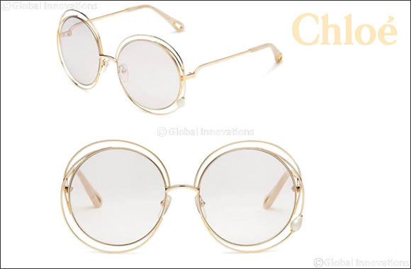 "Chloé's Iconic ""Carlina"" Sunglasses  In a Precious New Interpretation"