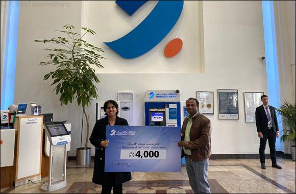 MOHAMMAD AKRAM MOHAMMAD YAQOB Wins KD 4000 in Burgan Bank's Value Account Draw