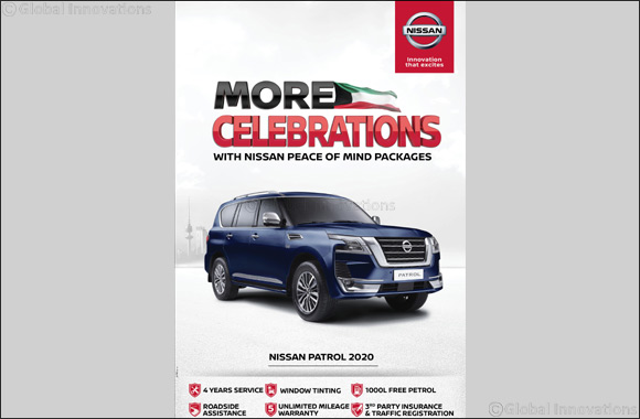 A special Hala February Offer for Nissan Fans!  2020 Nissan Patrol Comes With Unique Peace of Mind Package