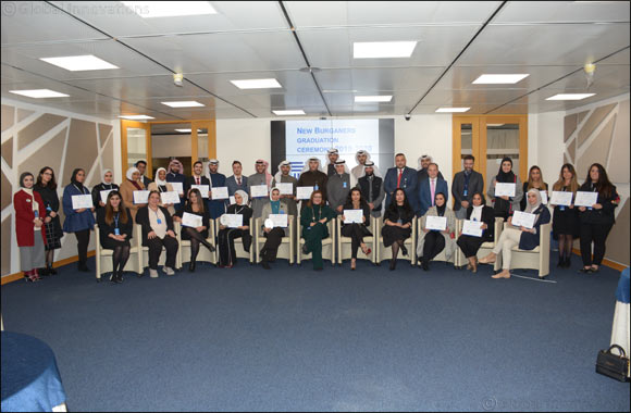 Burgan Bank Celebrates the Successful Graduation of its Young Kuwiti Bankers
