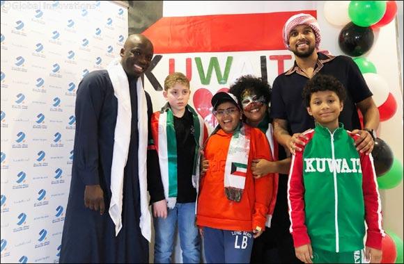 Burgan Bank Celebrates the Festive Month of February with the Children of Autism Partnership Kuwait (APK)