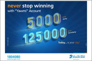 Burgan Bank Announces NWinners of Yawmi Account Draw