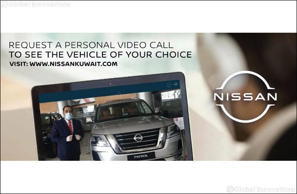 Nissan Al Babtain Introduces 'Live Video Call '