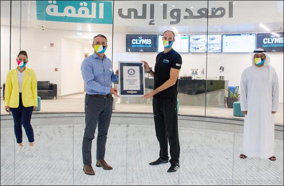 CLYMB™ Abu Dhabi Breaks Two GUINNESS WORLD RECORDS™ titles