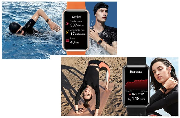 Huawei is Set to Dramatically Alter the Wearables Market with the Introduction of the New HUAWEI WATCH Fit in Kuwait
