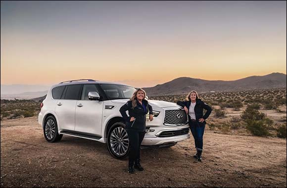 Ready for the Next Challenge, Infiniti QX80 to Make Its Rebelle Rally Debut