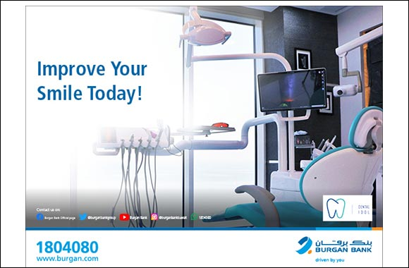 "Special Discount to all Burgan Bank Customers  at ""Dental Idol"" Medical Centre"