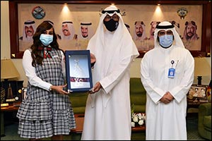 Al-Ahmadi Governor Honors Burgan Bank for its Contribution and Support in the Community Initiatives