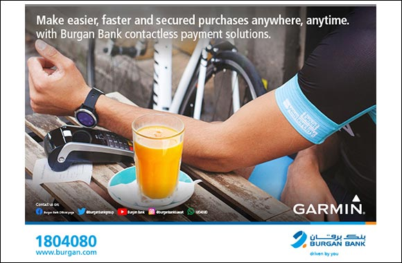 Burgan Bank Launches 'Garmin Pay'