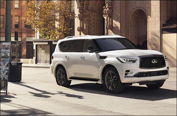 The New Infiniti QX80 Luxury SUV Arrives in Kuwait