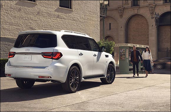 Envision the Infiniti QX80 Luxury SUV on Kuwait Roads