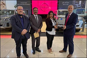 Nissan Al Babtain Sales Executive Awarded  �Most Engaging Video' by Ventavid