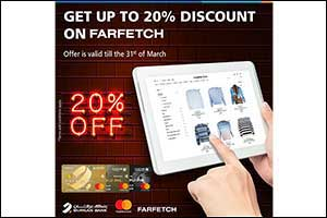 Limited-Time Offer from �Farfetch' Exclusively for Burgan Bank MasterCard Credit Cardholders