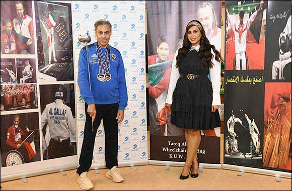 Burgan Bank Supports World Champion Wheelchair Fencing Titleholder, Tareq Al-Qallaf for the 7th year in a Row