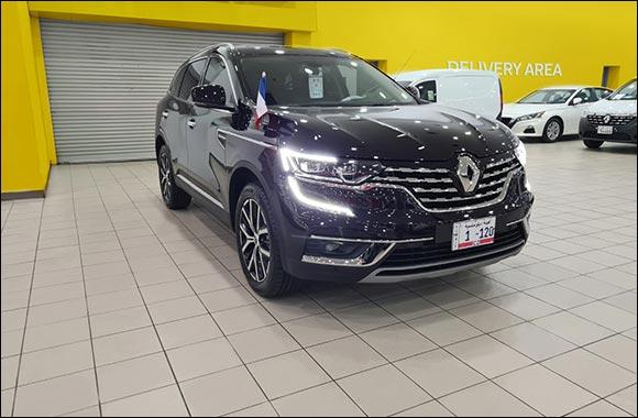 Renault Al Babtain Handover the New Official French Embassy Car, Renault Koleos