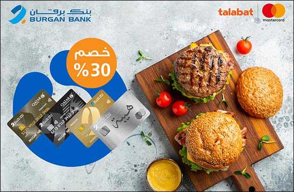 Burgan Bank Offers Its Customers a 30% Discount on Talabat