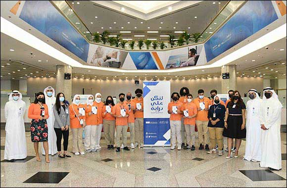 Burgan Bank Hosts Interns from The Scientific Center of Kuwait at its Headquarters