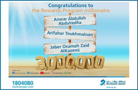 Burgan Bank Concludes the Millionaire Challenge Campaign