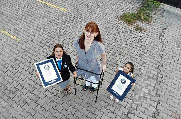 TURKEY'S Rumeysa Gelgi is warded GUINNESS WORLD RECORDS™ Title for Tallest Woman Living with a Height of 215.16cm (7ft 0.7in)