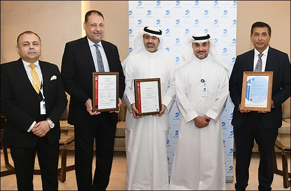 Burgan Bank Receives Three ISO Certificates Confirming the Bank's Commitment to the Highest Standards of Quality and Security