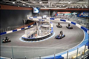 Al Kout Mall Opens the Largest Indoor Multi-Storey Go-Kart Track in the Middle East