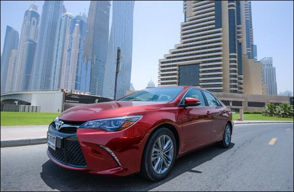 The Bold New Camry arrives in the UAE