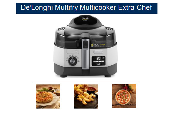 De'Longhi launches the new Multifry Multicooker Extra Chef – your must-have kitchen helper this Ramadan