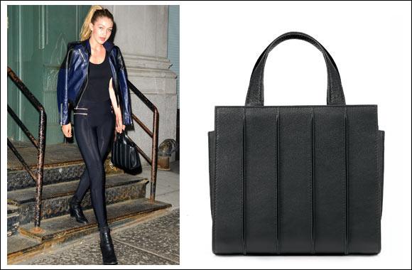 Max Mara Whitney Bag design by Renzo Piano Building Workshop + Gigi Hadid  carrying Whitney Bag 9366dd4fddf