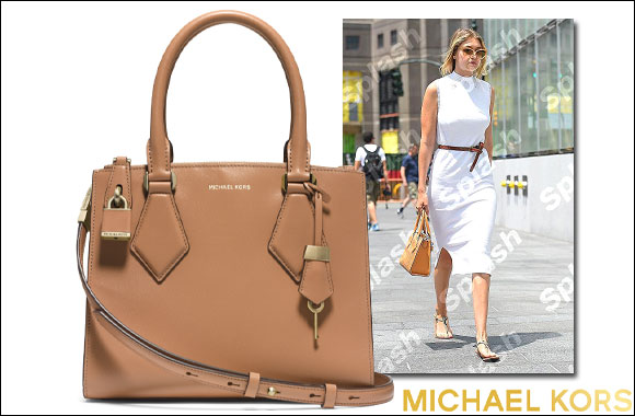 e5d254a62a11 ... Casey Small Leather Satchel Gigi Hadid in Michael Kors ...