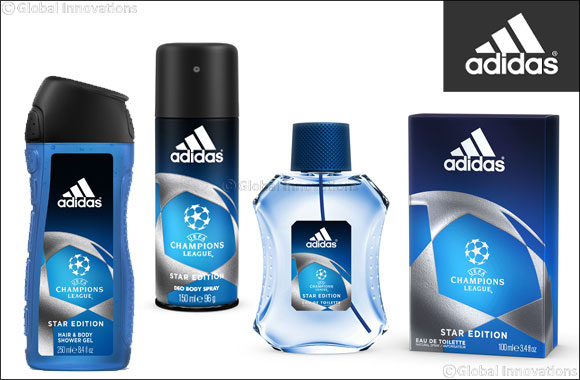 arquitecto callejón Casarse  Adidas unveils the New Body Care Range of the UEFA Champions League: Star  Edition.
